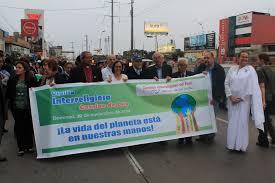 Vigilia interreligiosa durante la COP20