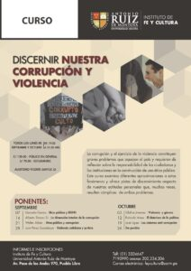 Universidad Antonio Ruiz de Montoya dicta curso sobre violencia y corrupción