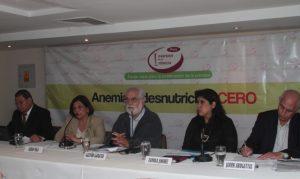 Lanzan campaña en contra de la anemia y desnutrición infantil