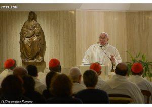 """Francisco y su próxima encíclica: """"¡No, no son verdes! ¡Son cristianos!"""""""