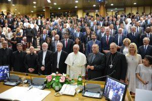 El Papa se reúne con alcaldes de todo el mundo