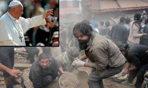 Francisco envía ayuda a víctimas del terremoto en Nepal