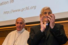 El Papa en la Congregación General de los jesuitas