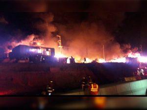 Incendio y drama en la comunidad shipiba de Cantagallo