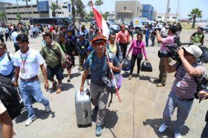 Saramurillo y Ejecutivo establecen hoja de ruta para frenar derrame
