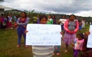 Comunidad Nuevo Mundo desde el Cusco pide compensación a Repsol