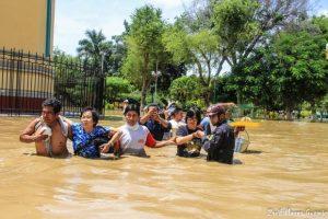 Piura en emergencia: Inundación en Catacaos tras desborde del río