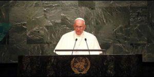 """Por """"un mundo sin armas nucleares"""" es el llamado del Papa a la ONU"""