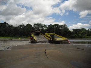 Contaminación de las aguas del rio Napo