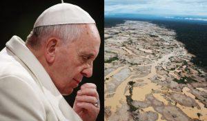 Visita del papa a Puerto Maldonado