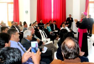 Delegados del norte participan de reunión de coordinación para la visita del Papa