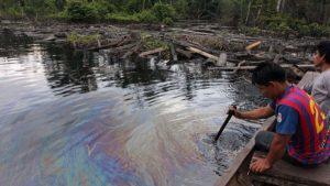Líder awajún denuncia nuevo derrame en la Amazonía