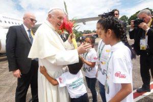 """Una Iglesia con rostro amazónico: """"Quise empezar por aquí"""" dice Francisco a los pueblos de la Selva"""