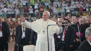 Los amazónicos conquistaron al Papa