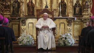 Francisco a los obispos: la corrupción y la política son parte de nuestra misión