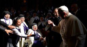 Las mujeres y el papa Francisco