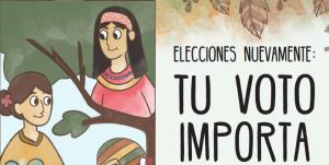 Tu voto importa – Elecciones 2018