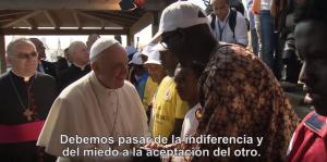 (Noviembre 2016) El video del Papa: países que acogen refugiados