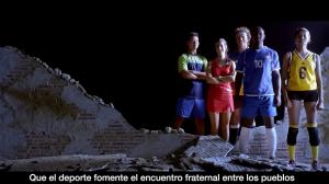 (Agosto 2016) El video del Papa: el deporte y la cultura del encuentro
