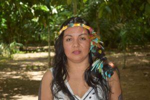 """Líderesa Harakbut: """"Desarrollo no es sinónimo de extractivismo"""""""