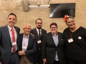 Histórico encuentro de la Comunidad LGTB con el Vaticano