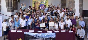 Defensoras de la tierra y de la vida reciben Premio Nacional de Derechos Humanos