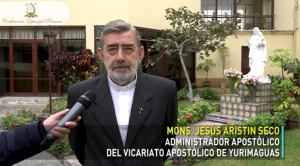 Entrevista a Monseñor Jesús Aristín, Administrador Apostólico del Vicariato de Yurimaguas sobre el terremoto en Loreto