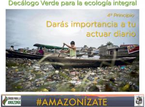 """""""Amazonízate"""", la campaña loretana que busca cambiar nuestro estilo de vida"""