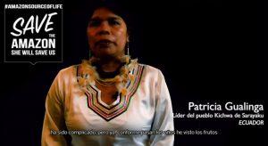 """Presentan serie """"Salva la Amazonía, ella nos salvará"""" para cuidar la casa común"""