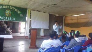 Huánuco: Estudiantes de Pucayacu participan en taller para aprender a conservar el agua y la Amazonía