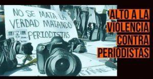 La CIDH está preocupada por el incremento de asesinatos de periodistas en México