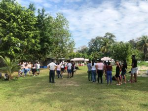 Jóvenes catequistas reflexionaron sobre el 'Cuidado de la Casa Común' en Aucayacu