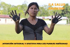 Líderes indígenas de la Amazonía exponen ante la CIDH sobre contaminación en salud de población y territorios