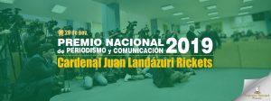 Conferencia Episcopal Peruana premiará a ganadores del Concurso Nacional de Periodismo «Cardenal Juan Landázuri Ricketts 2019»