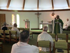 """Monseñor Miguel Cabrejos desde Chile: """"La Iglesia está llamada a crear ambientes de diálogo, paz y justicia social"""""""