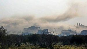 'Save the Children' denuncia el bombardeo a 10 escuelas en Idlib, Siria