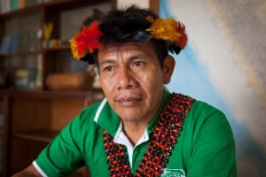 """Salomón Awananch: """"Los pueblos indígenas de la Amazonía somos los más vulnerables ante el coronavirus"""""""