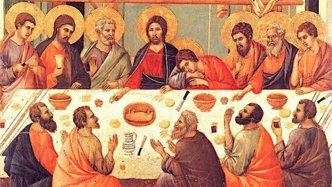 Jueves Santo: ¿Cómo participar desde casa de la misa televisada? »  Observatorio Socio Eclesial