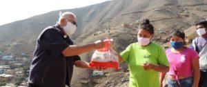 """Diócesis del Callao lanza campaña """"Canastas de la esperanza"""" para ayudar a familias en más de 150 AA. HH."""