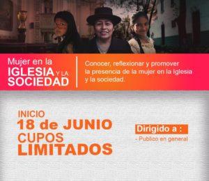 """Lanzan curso virtual """"Mujer en la Iglesia y la sociedad"""""""