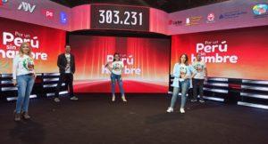 """""""Por un Perú Sin Hambre"""": Teletón en favor de familias vulnerables por el COVID-19 recaudó S/650.013"""