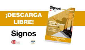 Revista Signos: Especial Jorge Álvarez Calderón