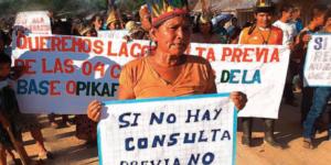 Organizaciones indígenas en contra de las consultas previas virtuales, propuestas por Ministerio de Economía