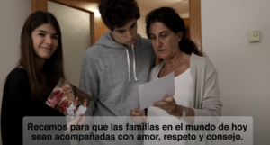 (Julio 2020) El video del Papa: Nuestras familias