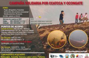 Cusco: realizan campaña a favor de comunidades afectadas por incendios