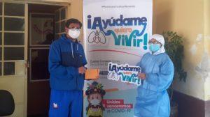 """Diócesis de Huancavelica inicia campaña """"Ayúdame, quiero vivir"""" para adquirir balones de oxígeno"""