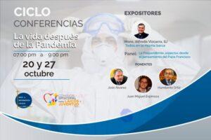 """Dictarán conferencia """"La vida después de la pandemia"""" este martes 27 de octubre"""