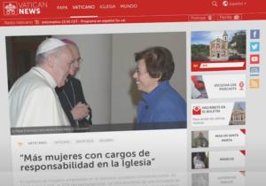 (Octubre 2020) El video del Papa: Mujeres en las instancias de responsabilidad de la Iglesia
