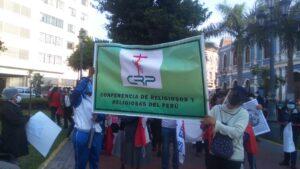 """Religiosos del Perú: """"Lamentamos que hayan muerto dos jóvenes para que la clase política corrija sus errores"""""""