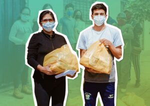 """Campaña """"Menestras solidarias"""" va recaudando 10 mil kilos de alimento para ollas comunes"""